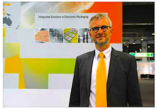 Mr. Ralf Merget, Dierctor Sales and Marketing, Material Systems, Global Business Unit, Heraeus Electronics