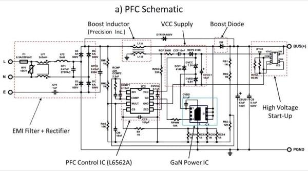 PFC demonstration board schematic