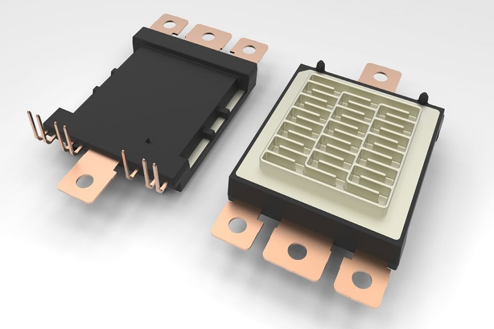 Platform for Automotive Traction Inverters can use Si or SiC Devices - News
