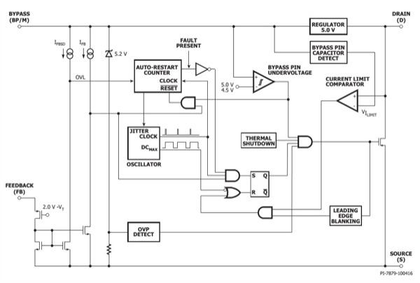 LinkSwitch-TN2 Block Diagram