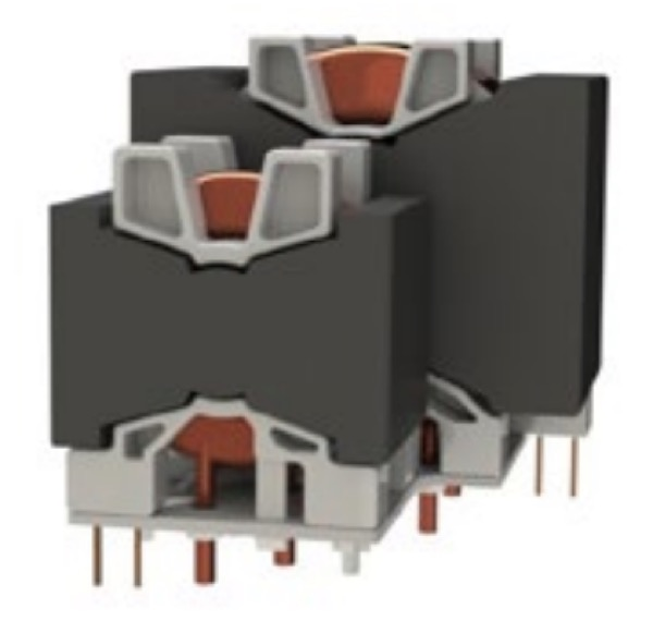 ZVS transformer and its related serial resonant choke