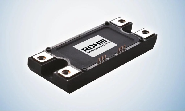 Full-SiC module based on ROHM's trench technology
