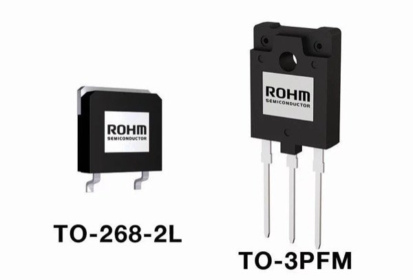 Rohm's 1700V SiC MOSFET is available in two different package options