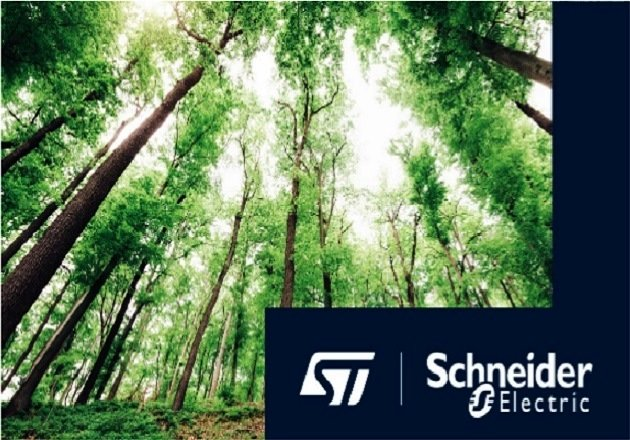 STMicroelectronics and Schneider Electric Partner on Carbon Neutrality