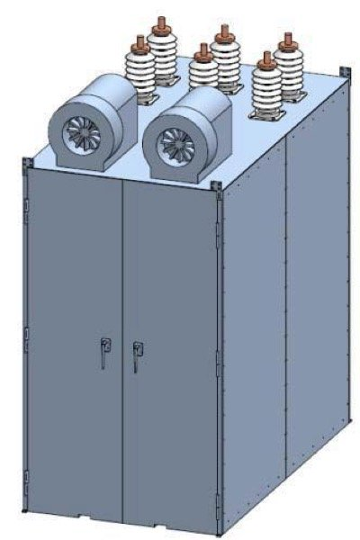 Air Cooled 3-Phase 15.5kV/1.2kA SSFCL