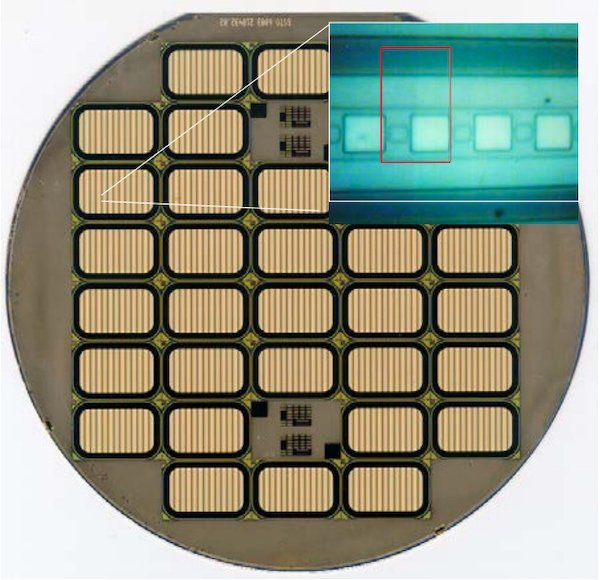 Super-GTO Chips on a 6-inch Wafer with 100,000 Cells / cm2