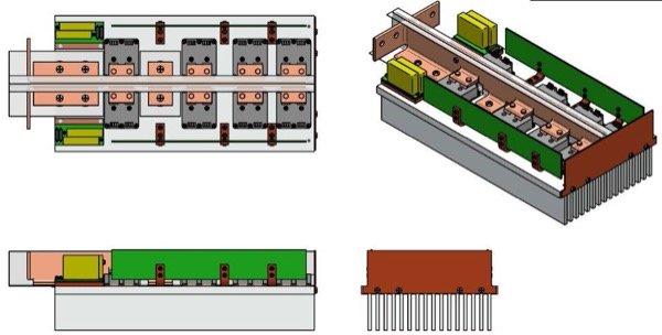 SGTO-Based 8-Module, High Frequency SSB Innova Macroprocessor© 3.5kV/1kA at 10-20kHZ (air cooled)