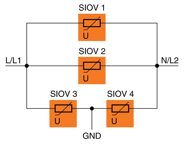 EPCOS SIOV varistors for protection of power supplies