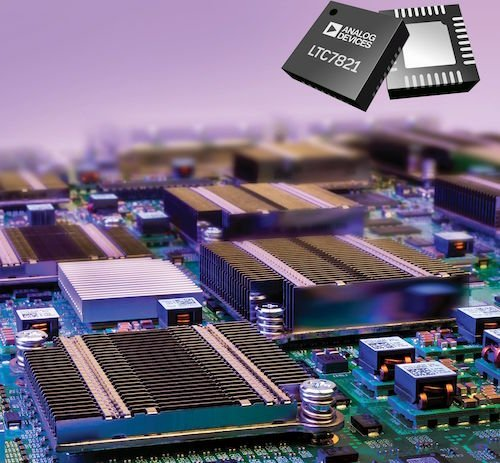 72V hybrid step-down DC-DC controller reduces solution size by 50%