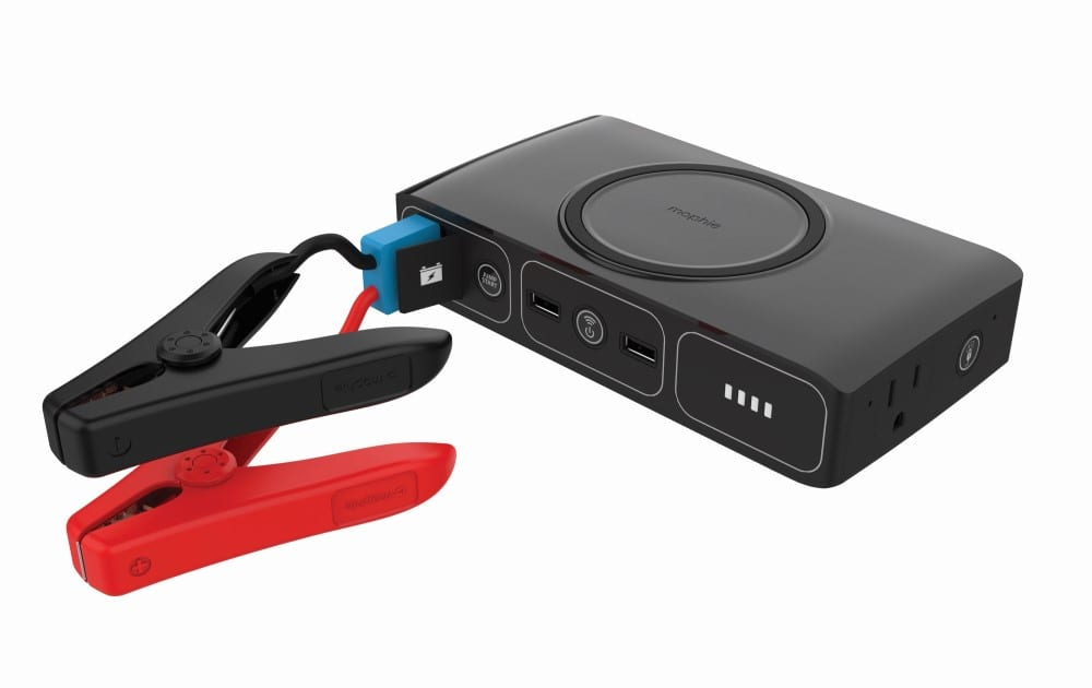 Portable Jump Starter for Full-Sized Cars Includes Qi Wireless Charging -  News